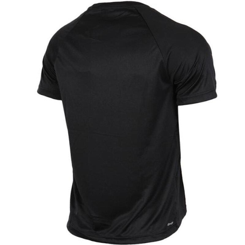 阿迪达斯短袖男体恤衫2017夏季新款运动半袖跑步训练t恤bk0937