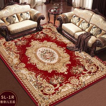 龙禧 欧式家用客厅长方形茶几地毯 卧室床边大地毯床前毯(sl-19r)